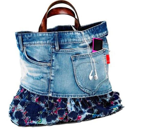 15 способов использовать старые джинсы по-новому... Забираю идею №14!