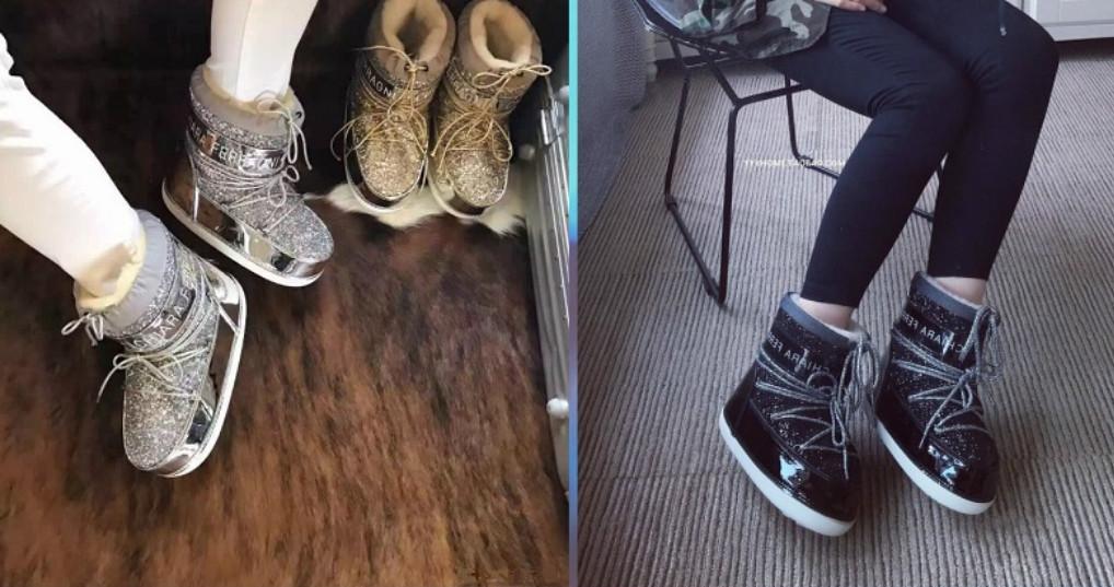 Луноходы: с чем и куда носить. Модный прорыв в обуви, в которой точно не замерзнешь!