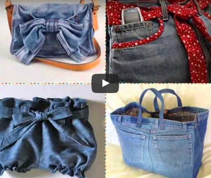 Как сшить джинсовую сумку своими руками из старого джинса