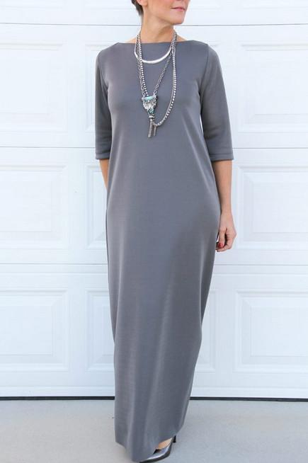 Стильное платье без выкройки своими руками... Кроить? Да это проще простого!