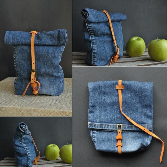 Посмотрите, что моя подруга делает со старыми джинсами… Не выбрасывать же такую находку!