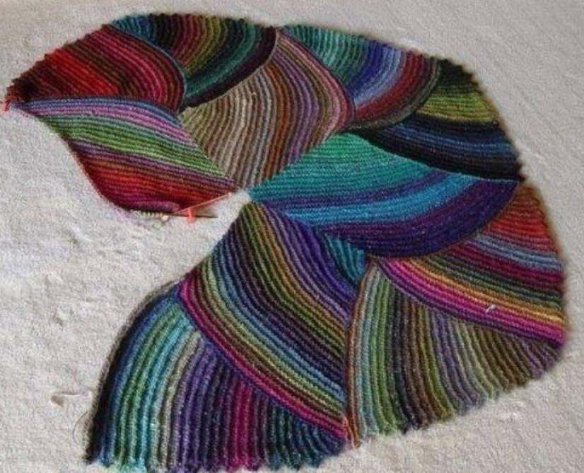 Как связать коврик спицами: идеи и мастер класс своими руками