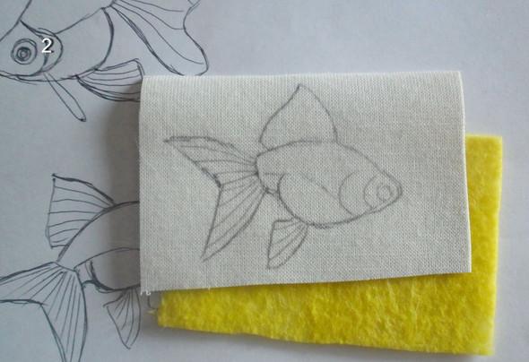 Вышиваем бисером золотую рыбку! Яркие, сияющие, словно с настоящей чешуей!
