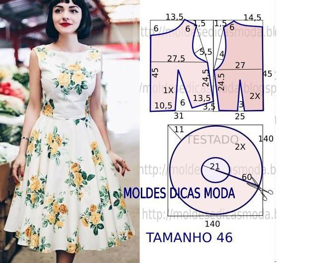 Моделирование: платья, юбки, блузки... Не так уж это и страшно: учимся строить выкройку!