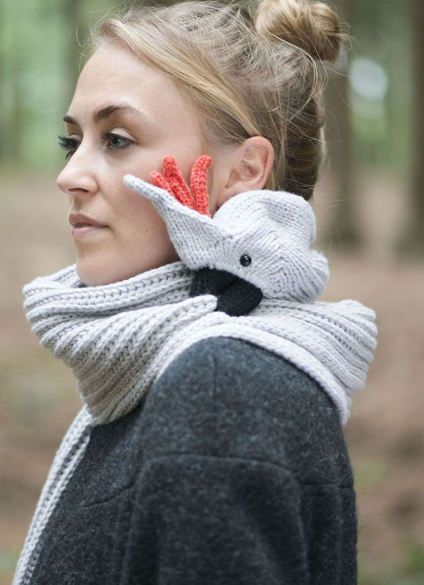 15 невероятно милых шарфов, связанных своими руками!
