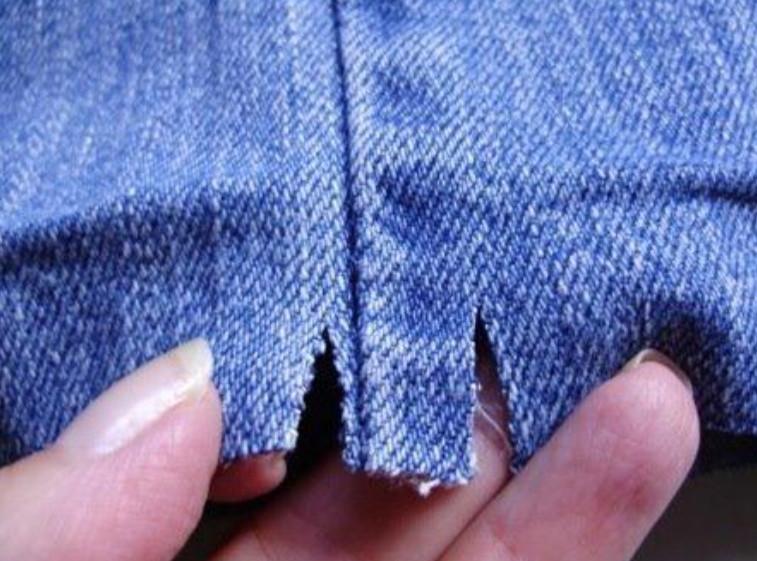 Как подшить джинсы. Мастер-класс... Будут как фабричные!