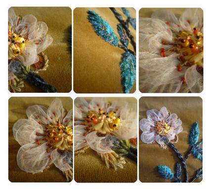 Французская вышивка, которая завораживает... Когда рукоделие превращается в искусство!