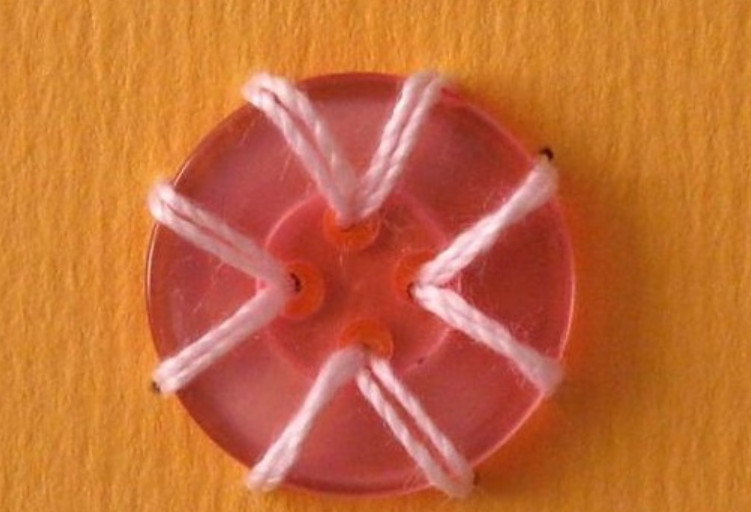 Про петли, пуговицы и аккуратные уголки... или Необычный декор при помощи обычных пуговиц!