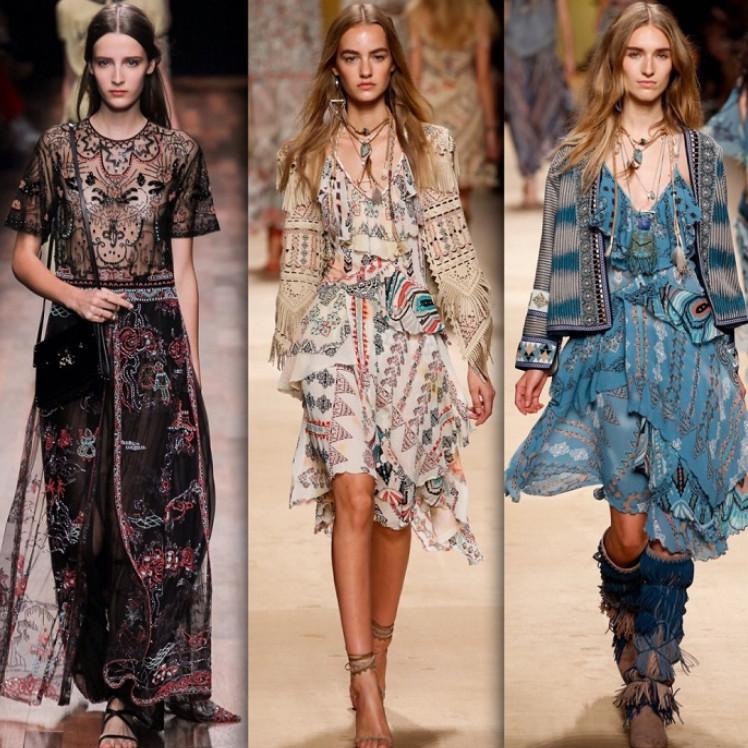 Натуральные ткани, свободный крой, уникальные аксессуары: стилю бохо нет равных... Богемный стиль!