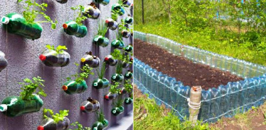 Что можно сделать из пластиковых бутылок на даче и дома: Идеи, советы и мастер класс своими руками