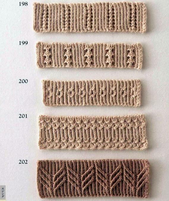 94 узора спицами для оформления края изделия своими руками. Коллекция красивых узоров