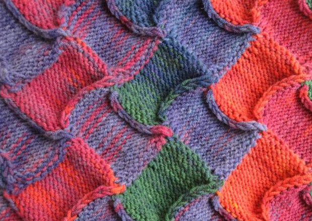 Техника плетеного вязания энтерлак шаг за шагом... Увлекательная технология вязания!