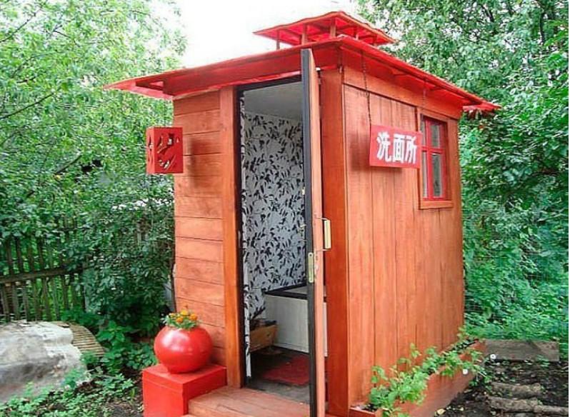 Вот какими должны быть туалеты на даче!