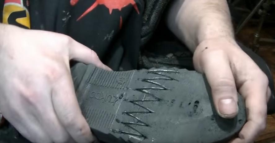 Ремонт трещины на подошве обуви своими руками