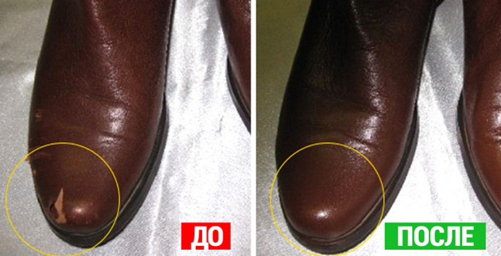 Убираем царапины с кожаной обуви... Нужные советы!