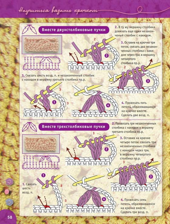 Пошаговый самоучитель вязания крючком. Урок 11