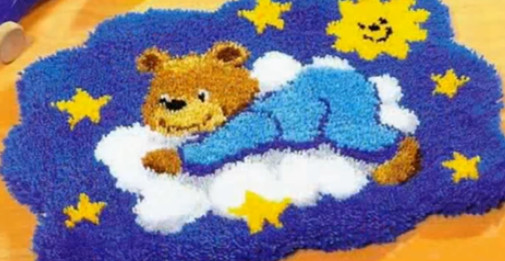 Пушистые коврики... Коврик смотрится отлично, а делается элементарно!