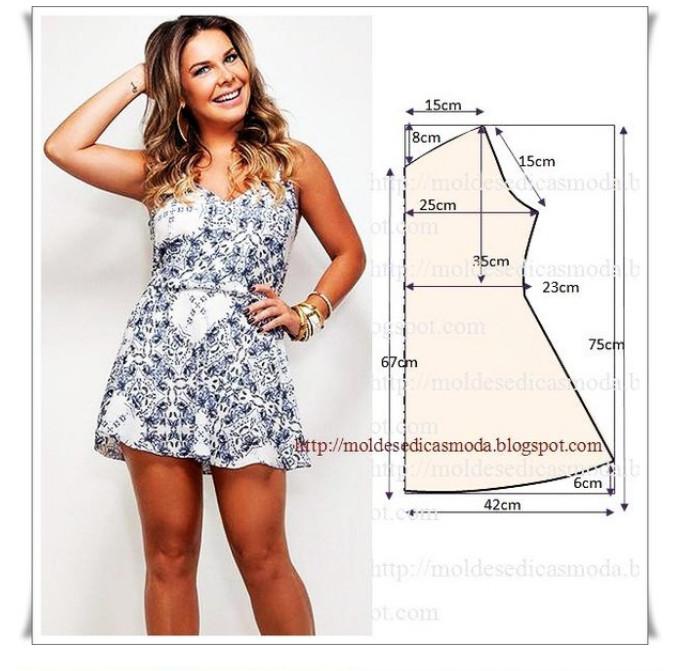 8 простых и легких платьев с выкройками... Идеальны для любой фигуры!