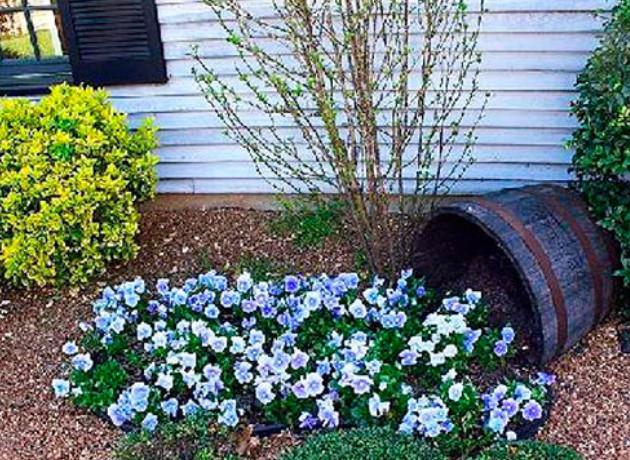 15 необычных очаровательных клумб, которые хочется сделать... Цветы способны сделать нашу жизнь ярче, приятнее и ароматнее!
