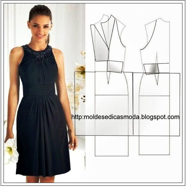 Фото и выкройки красивых платьев