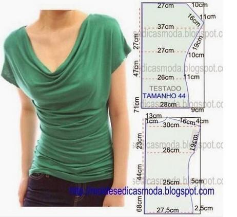 Шьем красивые блузки: 16 выкроек на любой вкус!
