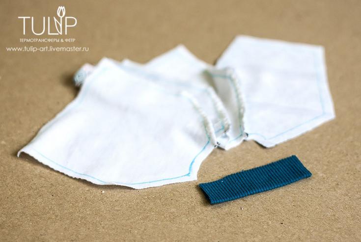 Свитшот для куклы: шьем стильную обновку... Такой простой и доступный мастер класс!