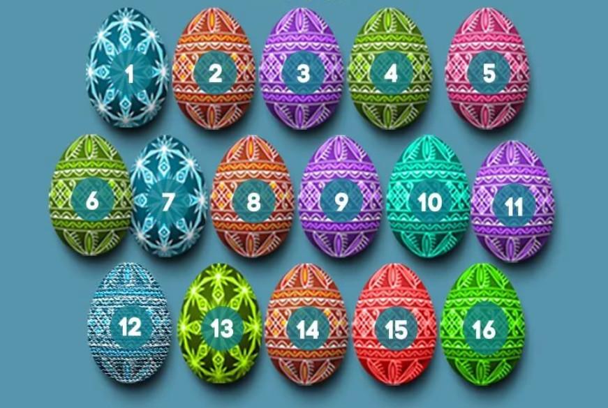 Выберите пасхальное яйцо и получите приятное поздравление!