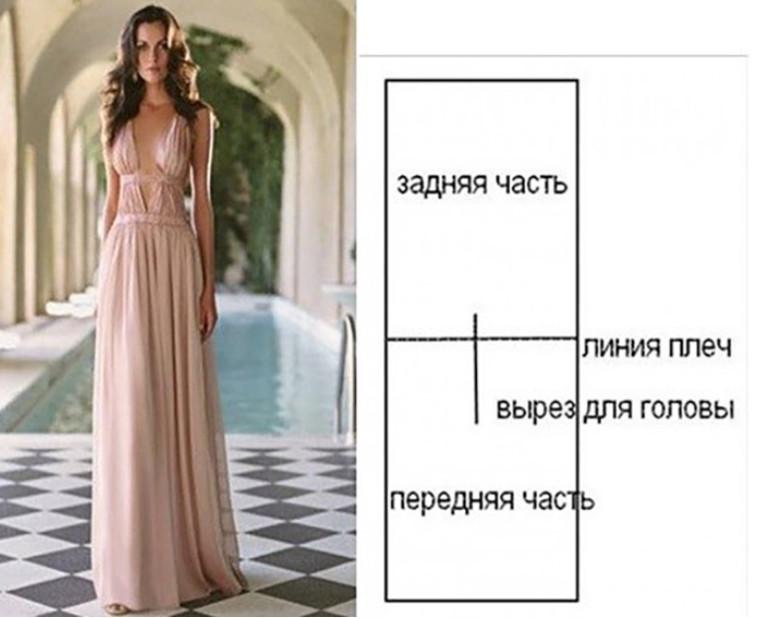 Простые выкройки стильных платьев. Красиво и женственно!