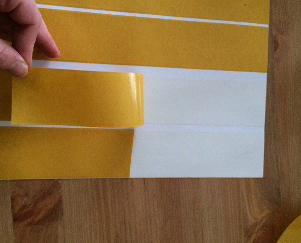 Как сделать принт на холсте в домашних условиях... Все, что нужно — это скотч и принтер!