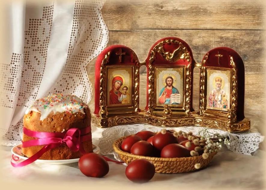 С Праздником Светлой Пасхи!