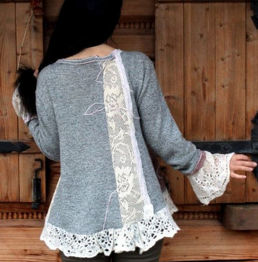 Новые стильные вещи из старой одежды. Идеи, советы + мастер класс своими руками