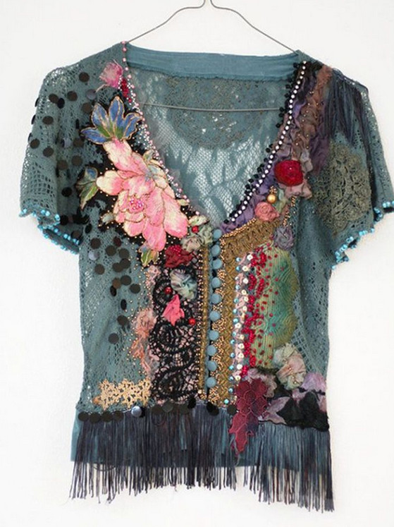 Бохо: красивые вещи для вдохновения. Изысканное сочетание кружев, вышивки, вязанных крючком элементов!