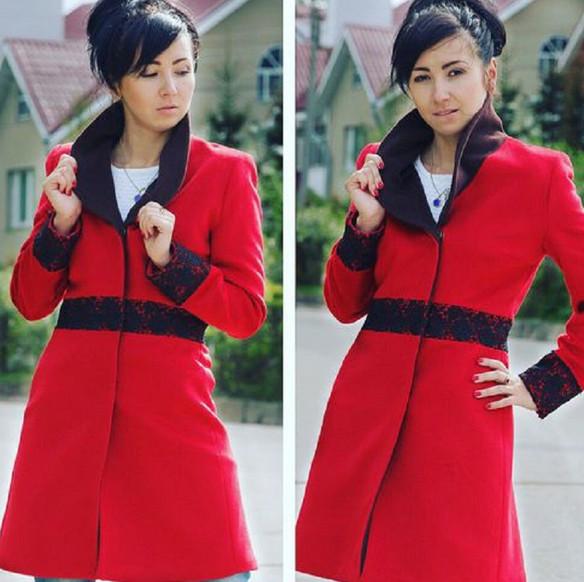 Она взяла горсть бусин… Через 15 минут пальто выглядело сногсшибательно!