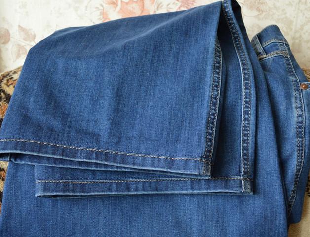 Хитрый и простой способ , чтобы это не было заметно… Подшиваем джинсы красиво - не обрезая и сохраняя строчку!