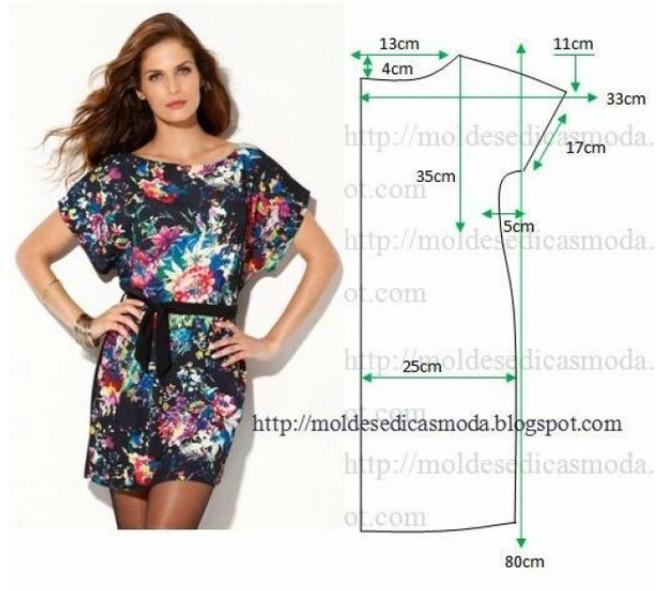 8 простых и легких платьев своими руками с выкройками! Идеальны для любой фигуры...