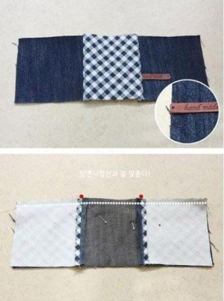 Удобная джинсовая сумка своими руками... Фото мастер-класс!