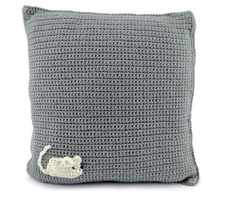 Вязаные диванные подушки «Котята» и «Щенки»! Диванные подушки с изображением котят и щенков порадуют не только любителей четвероногих!