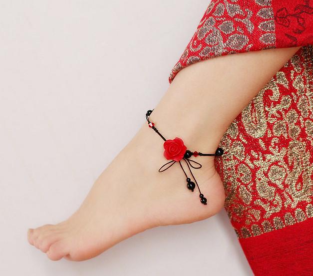 Украшения для ног: браслеты и барефуты... Готовим ножки к лету. 25 вариантов: от минимализма до роскоши!