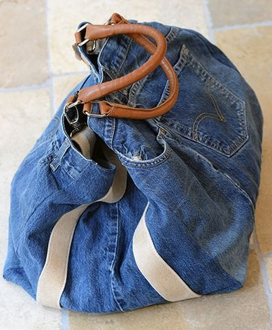Сумки из старых джинсов... 122 идеи для вдохновения!