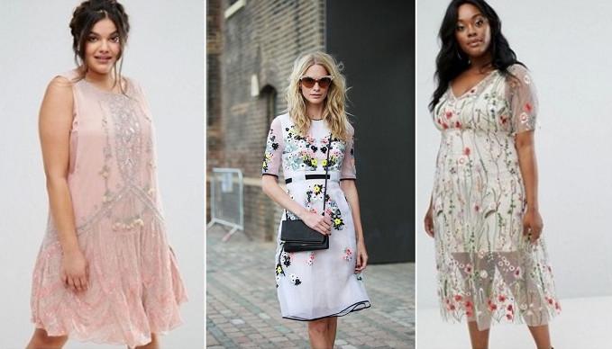 Самые модные летние платья 2017 года: 15 стильных моделей для худеньких и не только...