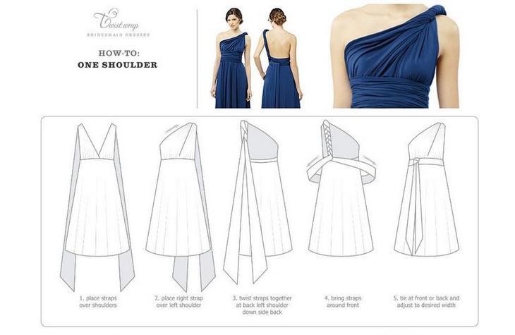 Платье-трансформер на любой случай: пошив и способы использования... Незаменимый наряд на все поводы!