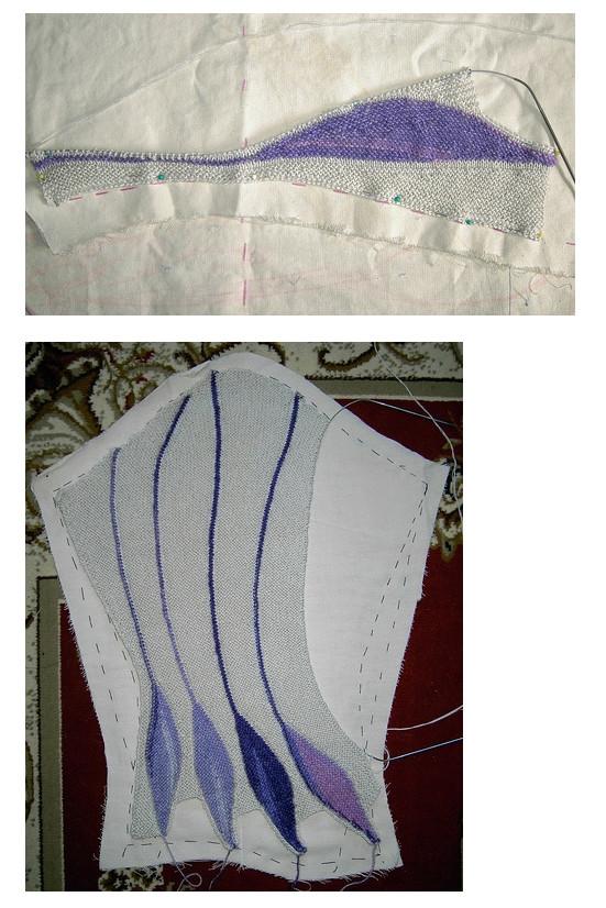 Поворотное или секционное вязание спицами (+мастер-классы)