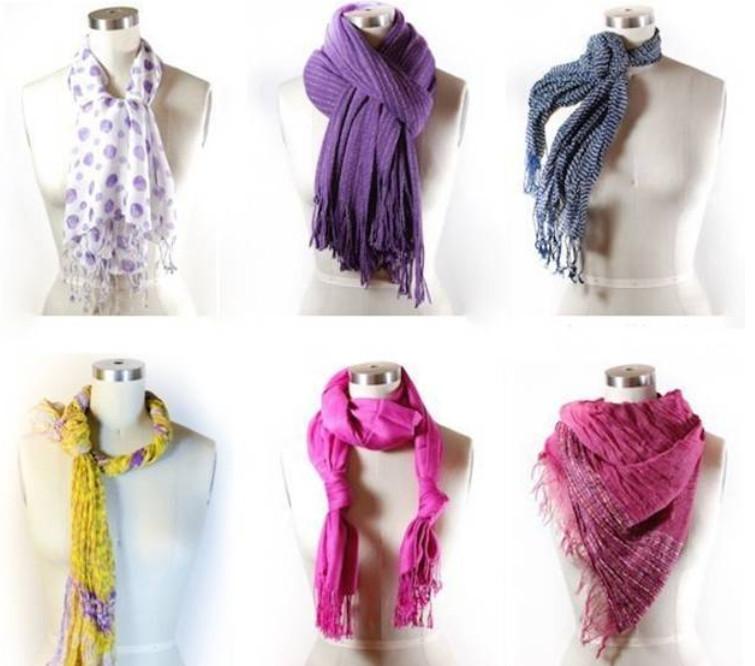 Как правильно носить женский шарф... 58 лучших вариантов!