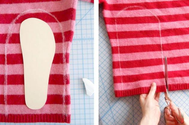 Теперь я знаю, что сделаю из старого свитера… Эта теплая вещица — просто находка!