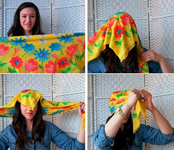 СОВЕТЫ Как красиво завязать платок на голове... 12 отличных способов создать изюминку для образа!