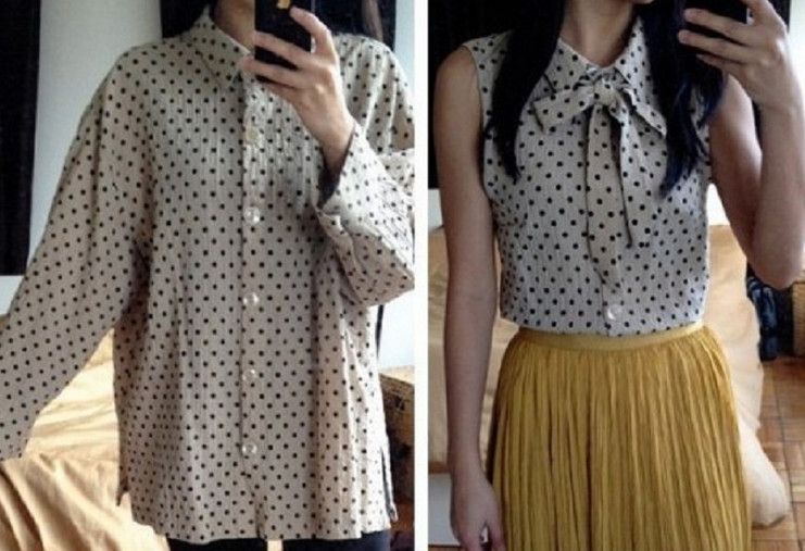 Вот почему я больше не покупаю дорогие блузы! Элегантная вещь всего за несколько часов…