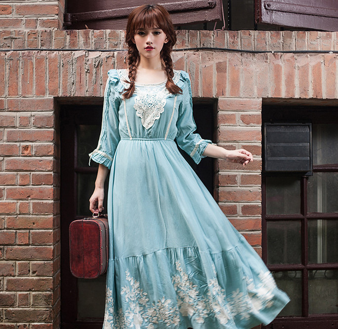 Винтажные платья... Очень женственно и нежно!