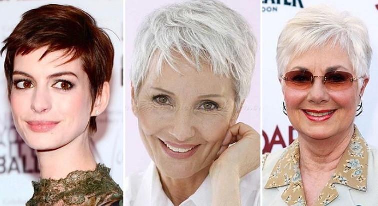 Все лучшие стрижки для круглого лица для женщин за 40! Как естественно и легко…