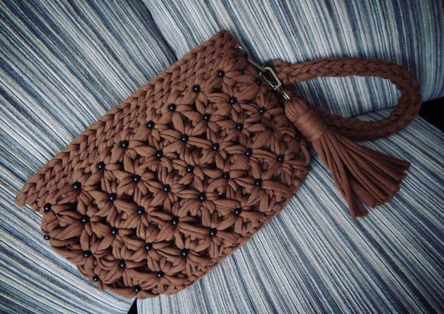 Вязаные сумки из трикотажной пряжи — новый тренд 2018 года... Сумочек много не бывает!