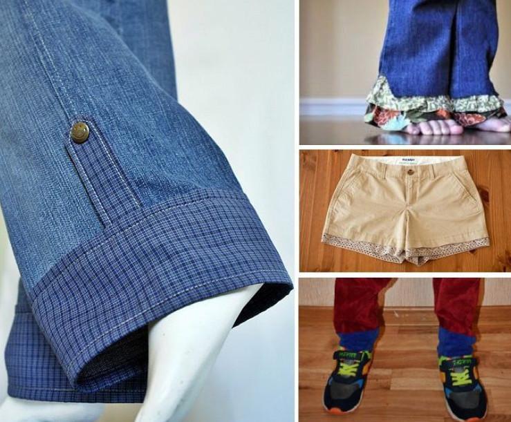 Как удлинить одежду... Несколько интересных идей для вдохновения!
